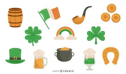 St Patrick Tagesfarbelement-Satz