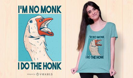 Goose quote t-shirt design