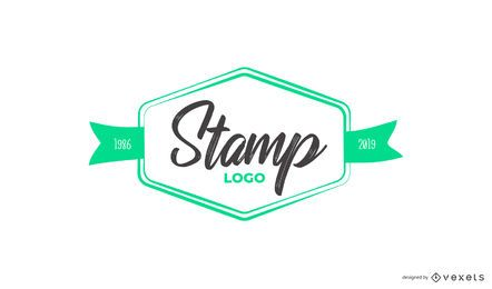 Stempel individuelles Logo-Design