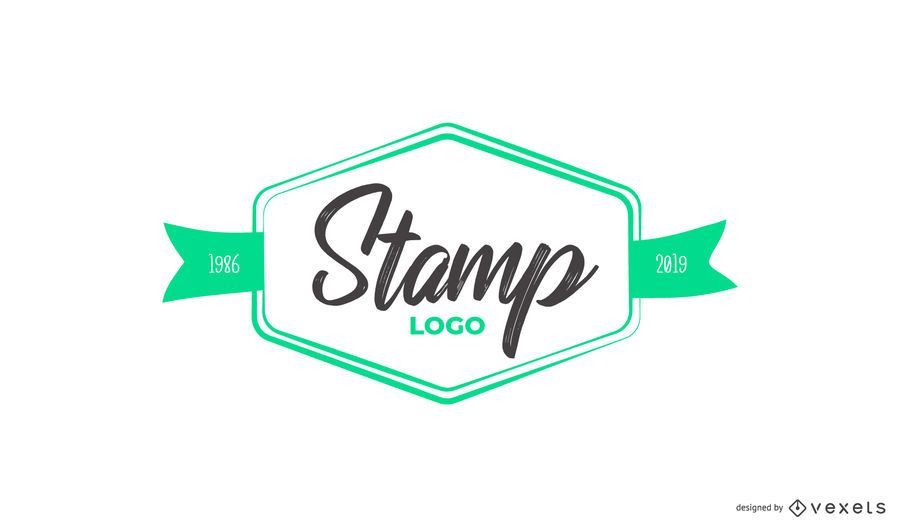 Stamp Custom Logo Design