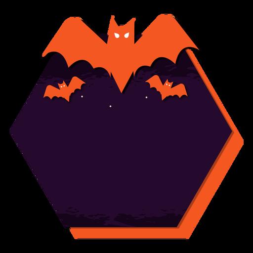 Adesivo de distintivo de morcego Transparent PNG
