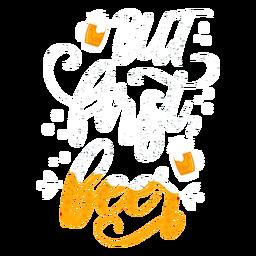 Bier Abzeichen Aufkleber