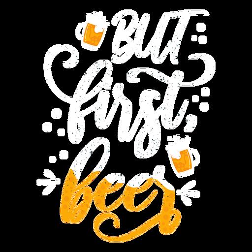 Etiqueta engomada de la insignia de cerveza