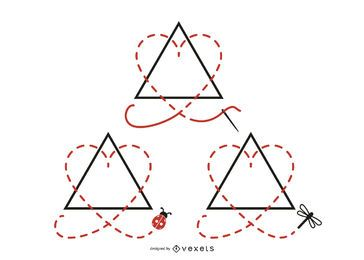 Annahme Symbol Design Pack