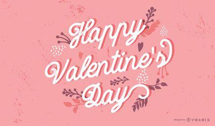 Alles Gute zum Valentinstag Briefgestaltung