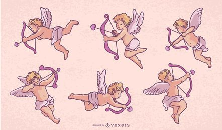 Cupid Character Design Pack