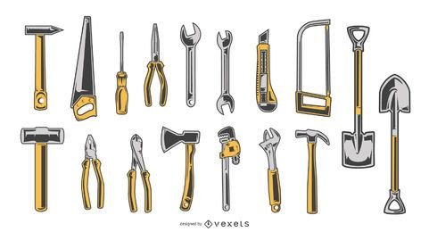 Handwerkzeug-Design-Sammlung