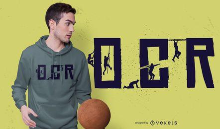 Diseño de camiseta OCR Obstacle Race