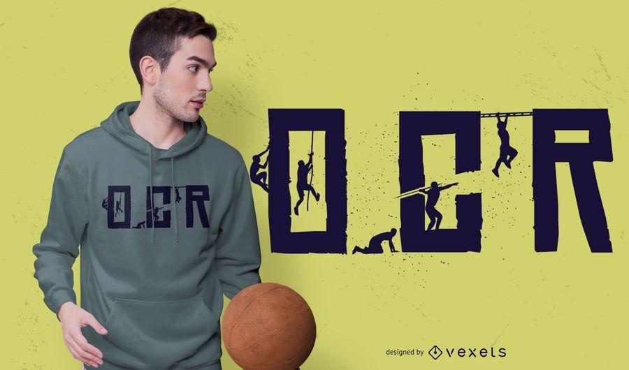 OCR Obstacle Race T-shirt Design