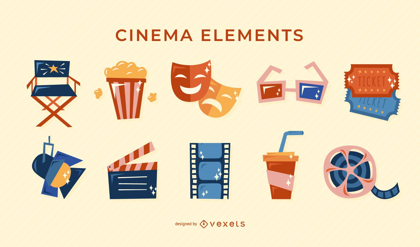 Cinema retro elements