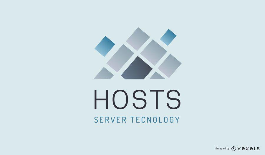 Hosting Company Business Logo Design