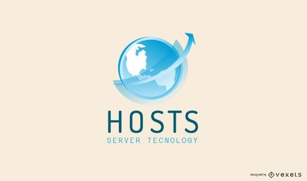 Hosting Services Logo Design
