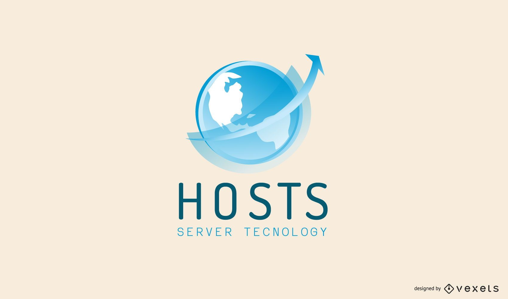 Diseño de Logo de Hosting Services