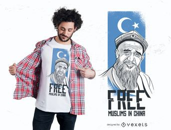 Free muslims t-shirt design
