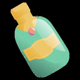 Ilustração de bebida de garrafa