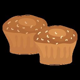 Bolo de pastelaria plana