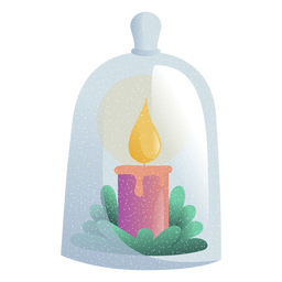 Candle light toy illustration