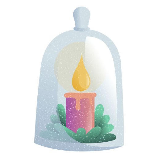 Candle light toy illustration Transparent PNG