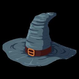 Ilustración de sombrero de gorra halloween
