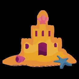 Castle sand flat