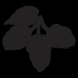 Ilustração de hop de cone