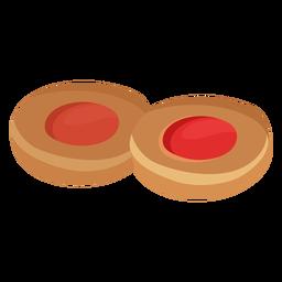 Coockie pastry flat