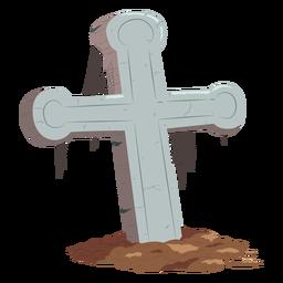 Cross gave illustration