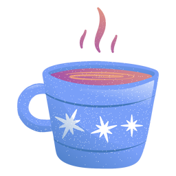 Cup drink illustration