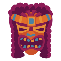 Face guise mask flat