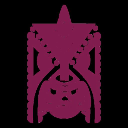Disfraz de máscara facial silueta detallada Transparent PNG