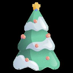 Ilustración de juguete de estrella de abeto