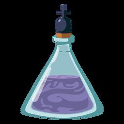 Flasche Flüssigkeit Illustration