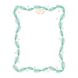 Adesivo de emblema de sino de ramo de quadro