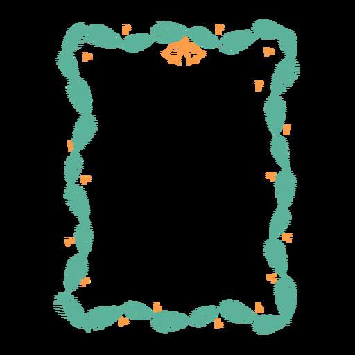 Adesivo de emblema de sino de ramo de quadro Transparent PNG