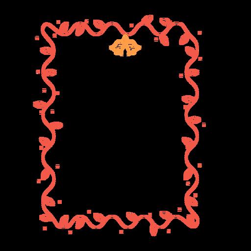 Etiqueta engomada de la campana de bombilla de marco Transparent PNG