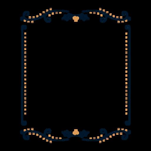 Frame leaf badge sticker Transparent PNG