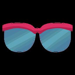 Gafas de protección plana