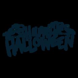 Happy Halloween Abzeichen Aufkleber