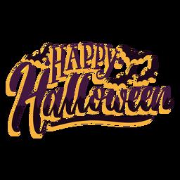 Happy Halloween Aufkleber Abzeichen