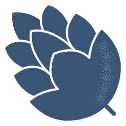 Silueta detallada de cono de salto