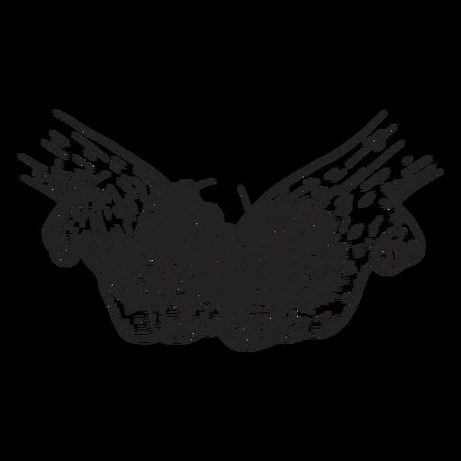 Ilustración de mano de cono de salto Transparent PNG