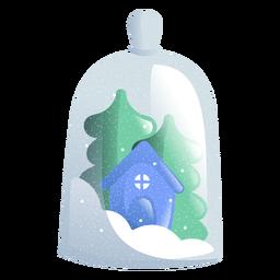 Ilustração de brinquedo de casa
