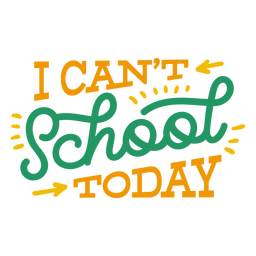 Ich kann heute keinen Abzeichenaufkleber zur Schule bringen