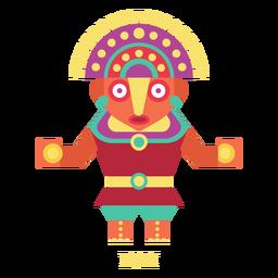 Inti Inka Göttlichkeit flach