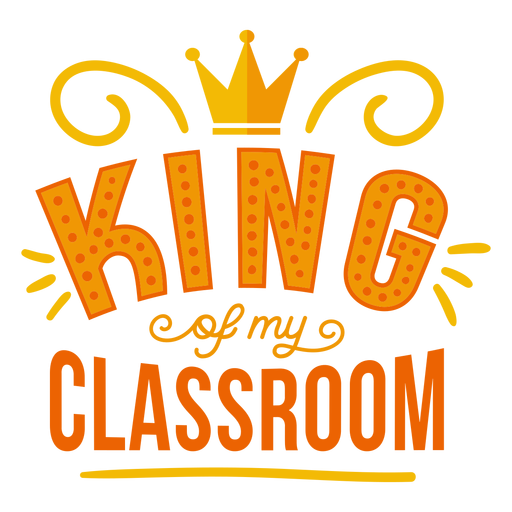 Insignia de la corona del rey de mi clase Transparent PNG