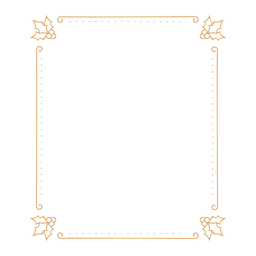 Emblema autocolante Leaf Frame