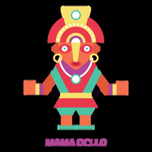 Mama ocllo inca divinity flat