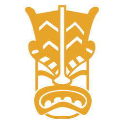 Mask face guise detailed silhouette