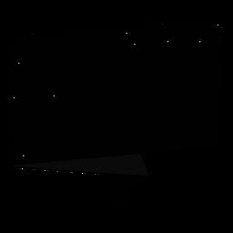 Etiqueta engomada de la insignia de la noche