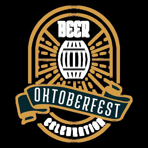 Oktoberfest logo emblem badge sticker Transparent PNG